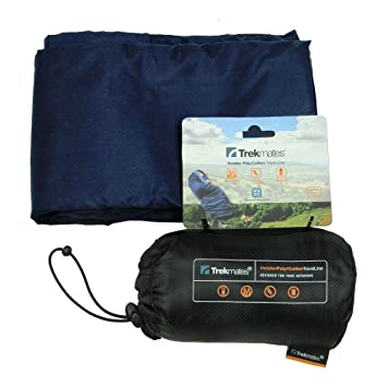 Trekmates Hotelier Sleeping - Sábana para saco de dormir, color azul, talla 206: Amazon.es: Deportes y aire libre