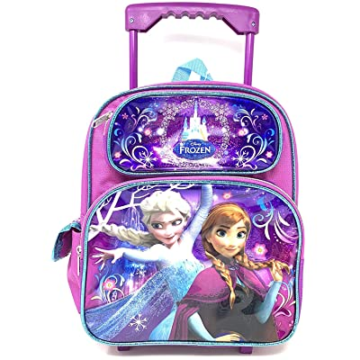 Disney Frozen Toddler 12 inches Mini Rolling Backpack -18305 | Kids' Backpacks