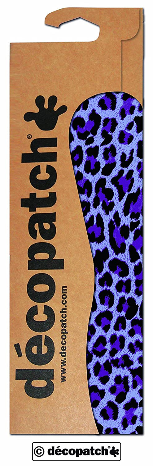 décopatch Animal Purple Leopard Print Paper, 30 x 40 cm, Pack of 3 Sheets C528O