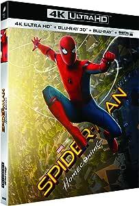 SPIDER-MAN : HOMECOMING - UHD + BD 3D + BD (UV) [4K Ultra HD + Blu-ray 3D + Blu-ray + Digital UltraViolet]