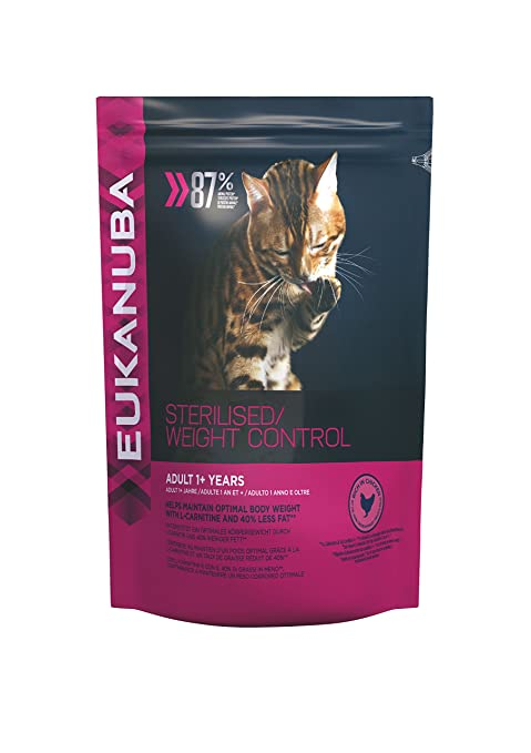 EUKANUBA Gato Light Sobrepeso/Esterilizados - 10 kg