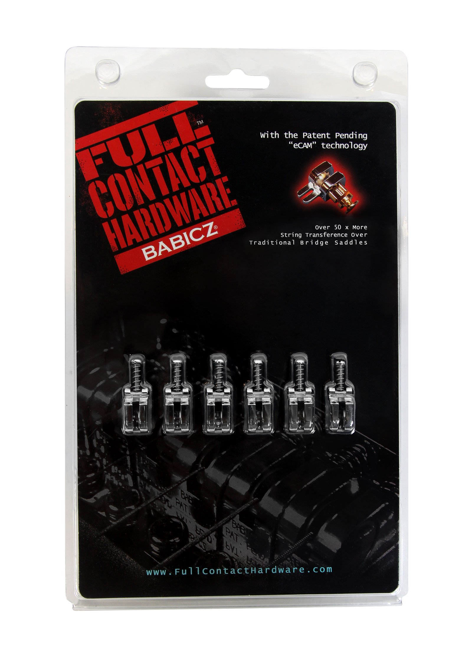 Babicz Full Contact Strat Swivel Saddle Kit Chrome