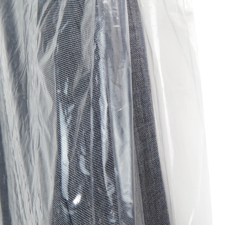 Hangerworld 6 Fundas 137cm Protecci/ón de Ropa en Polietileno Trasparente Antipolvo Grosor 0,025mm