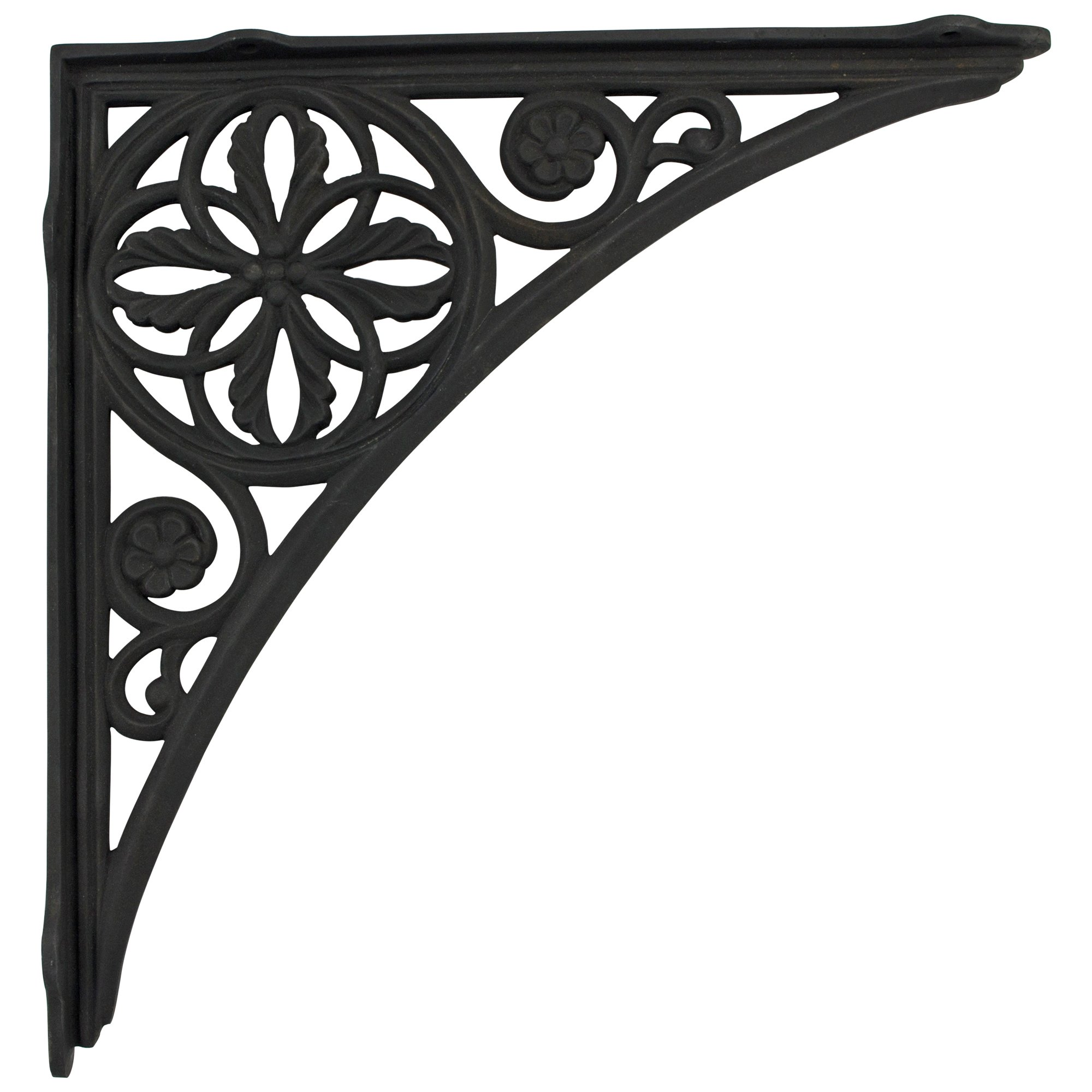 Wall Bracket Cast Iron Victorian Vintage style BIG HUGE for shelves sink old fashioned by The King's Bay