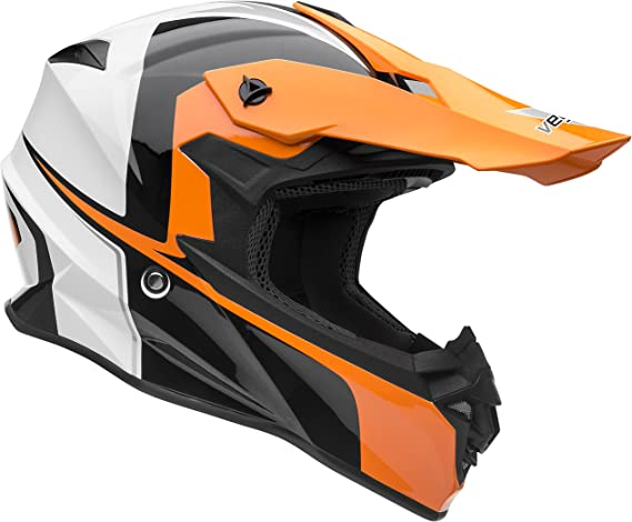 Vega 3-snap Visor for Off-Road Helmet Camouflage