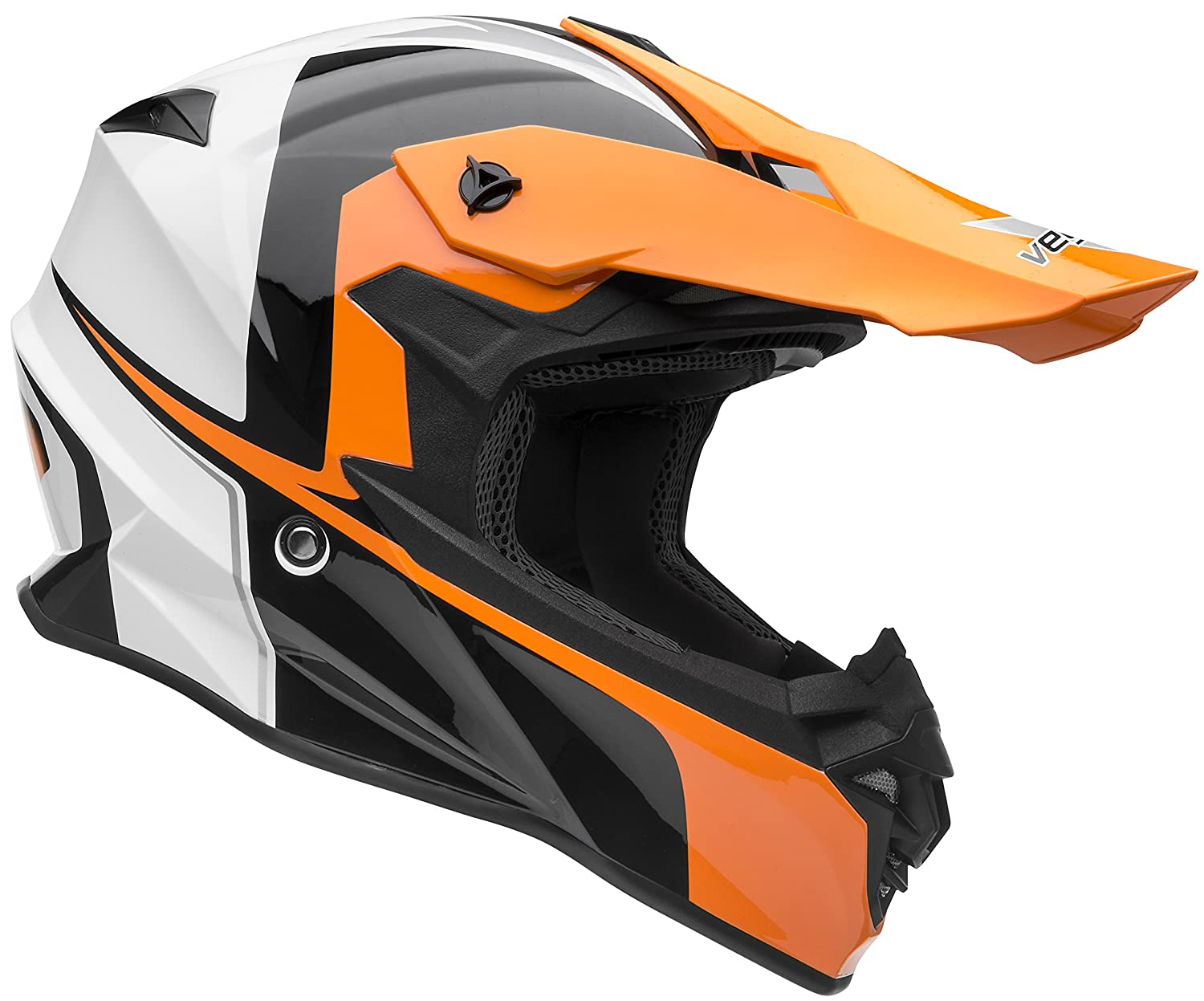 Vega Helmets VF1 Lightweight Dirt Bike Helmet – Off-Road Full Face Helmet for ATV Motocross MX Enduro Quad Sport,