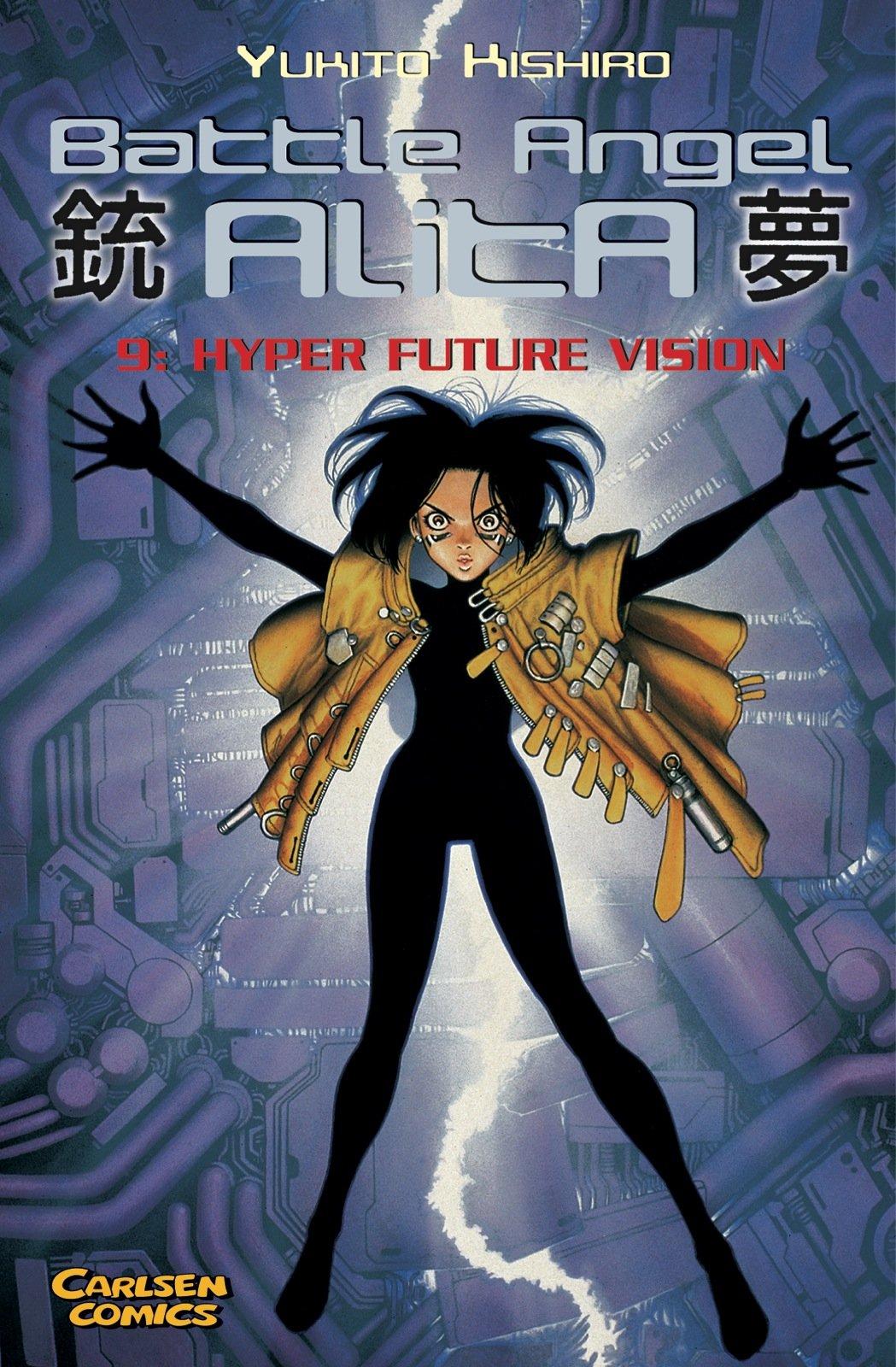 Battle Angel Alita, Taschenbuch-Ausg, Bd.9, Hyper Future Vision