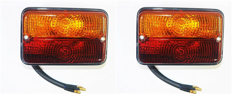 Rear Tail Flasher Lamp light set LH&RH Massey Ferguson Mf 275, MF 398 and other tractors- 11001602