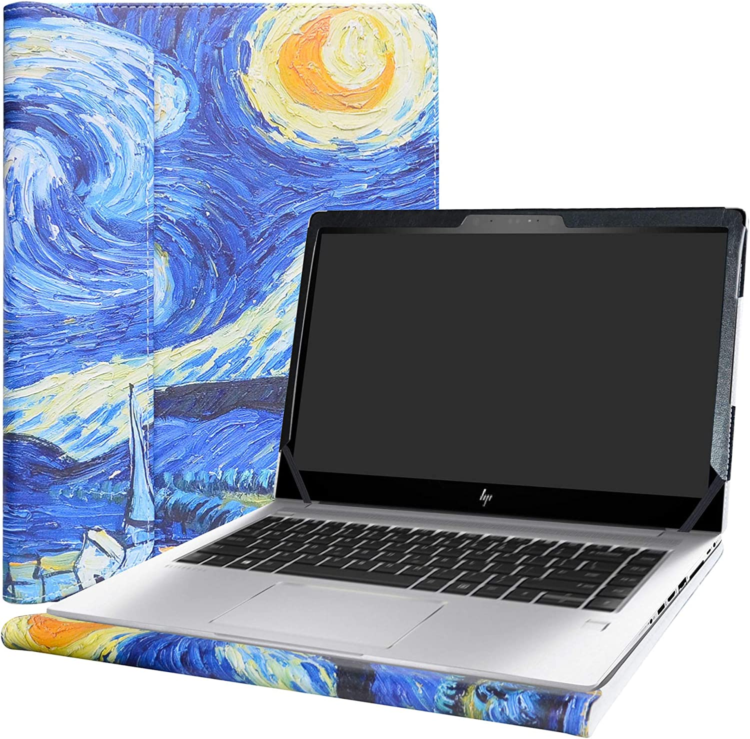 "Alapmk Protective Case Cover for 15.6"" HP EliteBook 850 G6 G5 & EliteBook 755 G5 & ZBook 15u G6 G5 Laptop(Note:Not fit EliteBook 850 G4/G3/G2 & EliteBook 755 G4/G3 & ZBook 15u G4/G3),Starry Night"