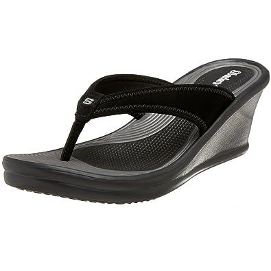 e73e652c1a977 Skechers Cali Women s Rumblers Cakewalk Thong Sandal
