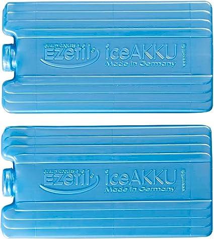 K/ühlakku 4er Pack 4 x 750g 24h K/ühlleistung blau mit gratis K/ühlakku Reinigungstuch Gro/ßer Schwerer K/ühlakku f/ür K/ühltaschen und K/ühlboxen
