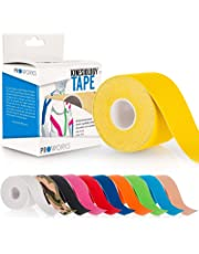 Proworks Kinesiology Tape | 5m Roll of Elastic Muscle Support Tape for Exercise, Sports & Injury Recovery