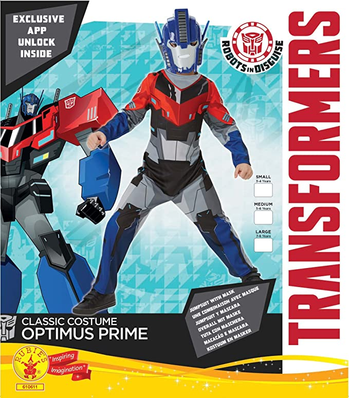 Rubies s Official Hasbro Transformers Optimus Prime Classic ...