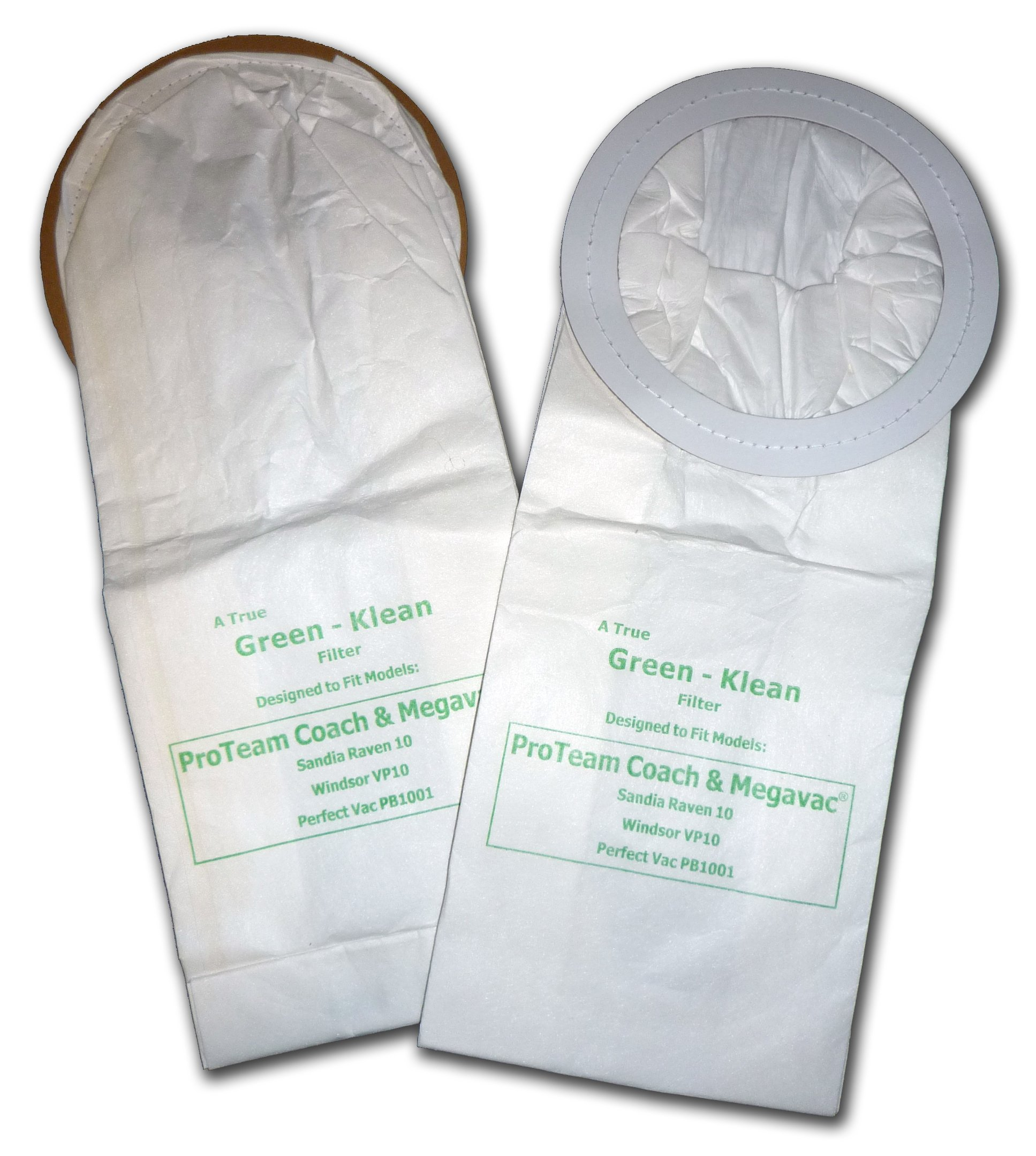 Green Klean GK-S-Coach Replacement Vacuum Bags (Pack of 100)