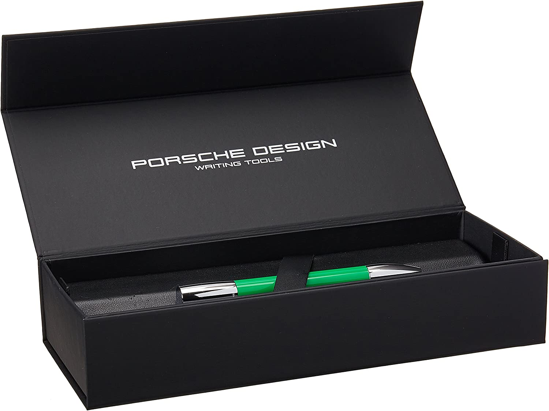 colore Verde Porsche Shake Pen P3140 Penna a sfera in acciaio INOX