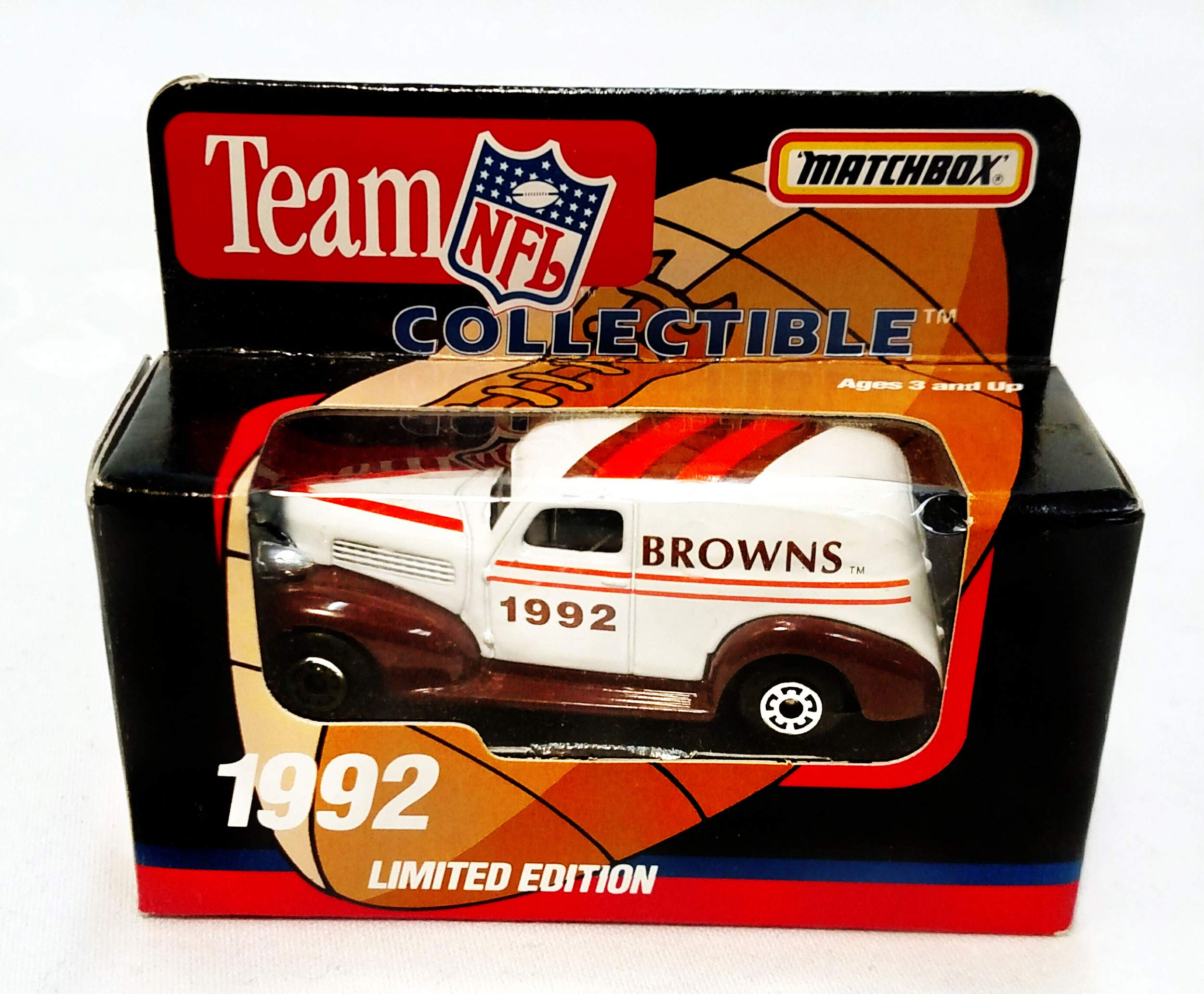 Cleveland Browns 1992 Limited Edition Matchbox Die Cast Collectible