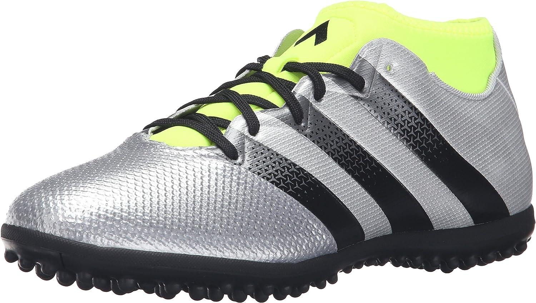 adidas Performance Ace 16.3 Primemesh TF - Zapatillas de fútbol para Hombre, Plateado (Plata Metálica/Negro/Electricidad), 39.5 EU: Amazon.es: Zapatos y complementos