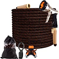 MYRIANN Kasmotion 50ft Expandable Garden Hose with 9-Way Spray Nozzle