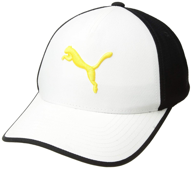 4b0d97d9 Amazon.com : Puma Golf 2017 Men's Front 9 Flexfit Hat : Sports & Outdoors