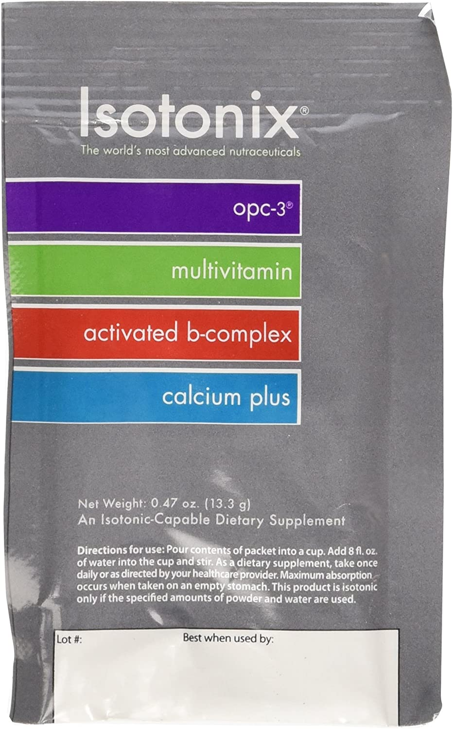 Isotonix Daily Essentials Packets 0.47 oz pack of 30