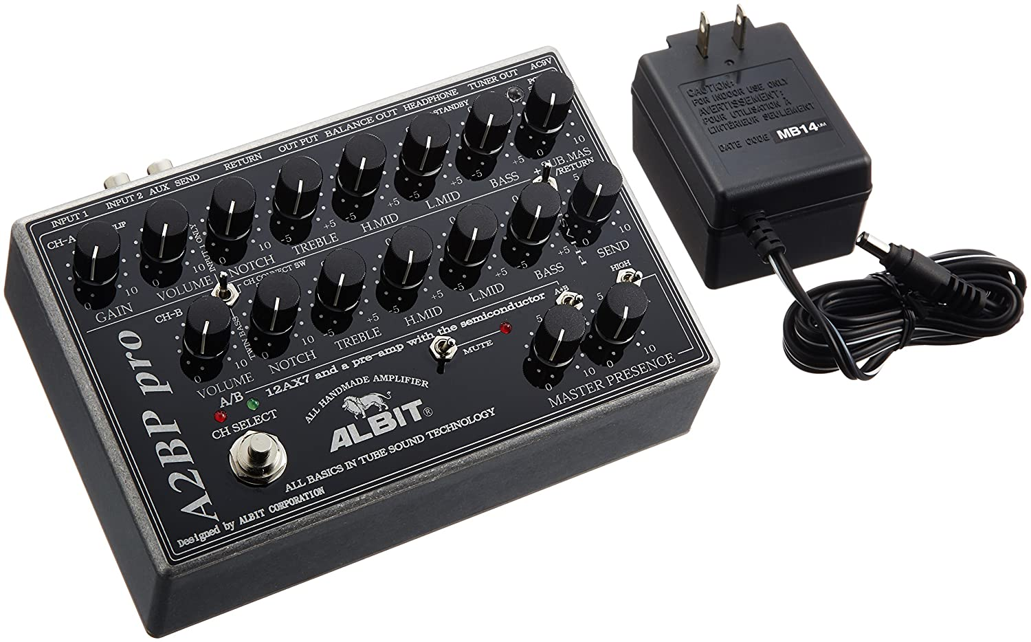 ALBIT BASS PRE-AMP(TUBE MODEL) ベースプリアンプ A2BP pro   B0041AV1IU