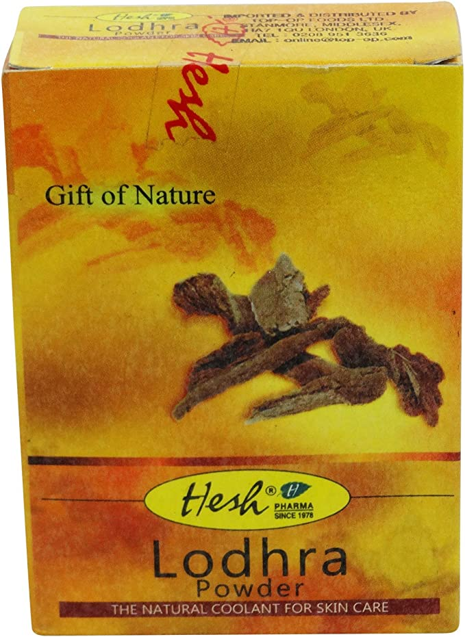 Hesh - Lodhar Powder, polvo purificador para piel grasa, acné ...