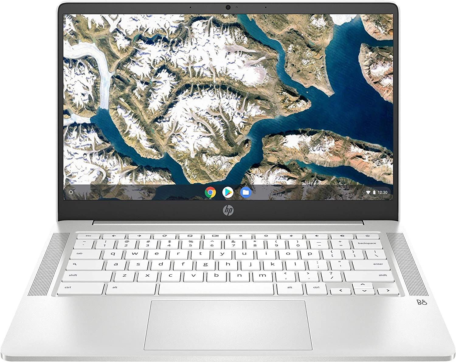 "HP Chromebook 14 14"" Laptop Computer for Education or Student/ Intel Celeron N4000 Up to 2.6GHz/ 4GB DDR4/ 32GB eMMC/ Up to 13+ Hrs Battery/ Webcam/ Online Class Ready/ Chrome OS/ iPuzzle USB-C HUB"