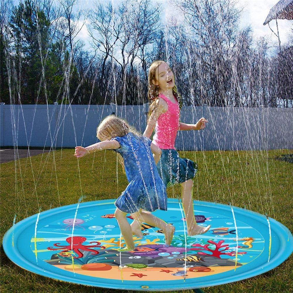 Summer Outdoor Eau Spray Jeu Mat saupoudrer et Splash Jouet Pour Enfants Bon état
