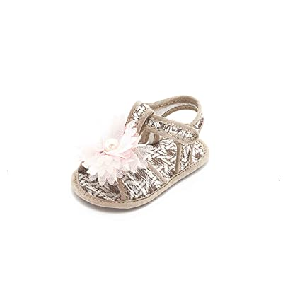 ABA , Chaussures souples pour bébé (fille) beige beige