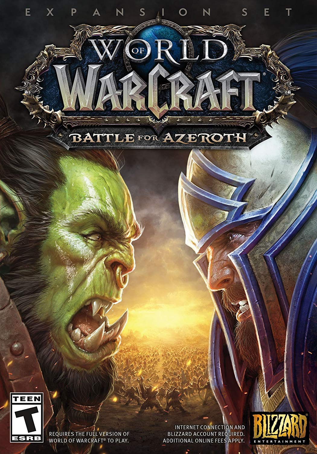 World of Warcraft Battle for Azeroth - PC Standard Edition by Blizzard Entertainment