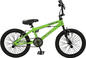 Zombie Boy Nuke Bicicleta, Verde/Negro, tamaño 18: Amazon.es ...