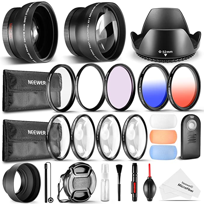 Review Neewer 52MM Accessory &