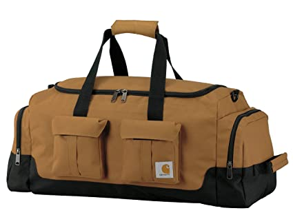 726b3b86d13f Amazon.com: Carhartt Legacy 25-Inch Utility Duffel, Carhartt Brown ...