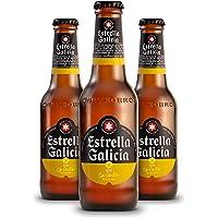 Cerveza Estrella Galicia Sin Gluten-24Unidades de 33Cl (Especial Celíacos)