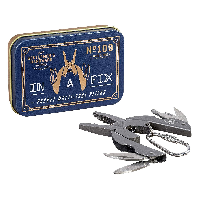 Alicates multipiscina de bolsillo con acabado de titanio Wild and Wolf AGEN167