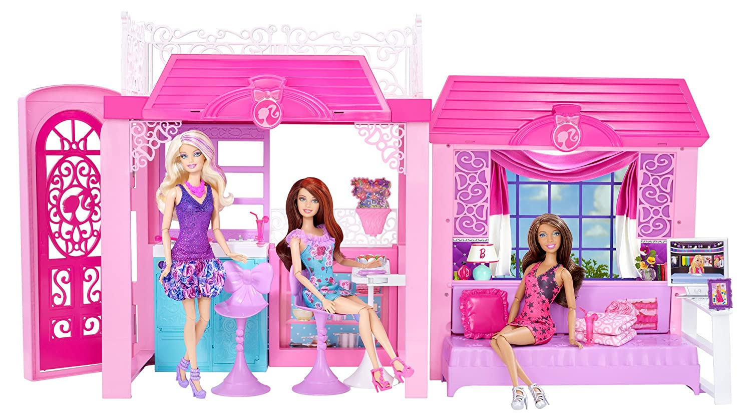 10 awesome barbie doll house models - 10 Awesome Barbie Doll House Models 4