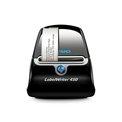 DYMO LabelWriter 450 - Impresora de etiquetas (600 x 300 DPI, Térmica directa, 51 Ipm, USB 2.0, De serie, 127 mm, 187 mm) (importado)