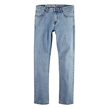 af5f26fc5af Amazon.com  Emerica Men Pure Slim Denim Light Vintage Wash Jeans Size  28x30  Clothing