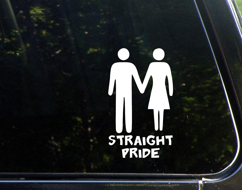 Straight Pride Vinyl Decal Sticker Car Truck Window