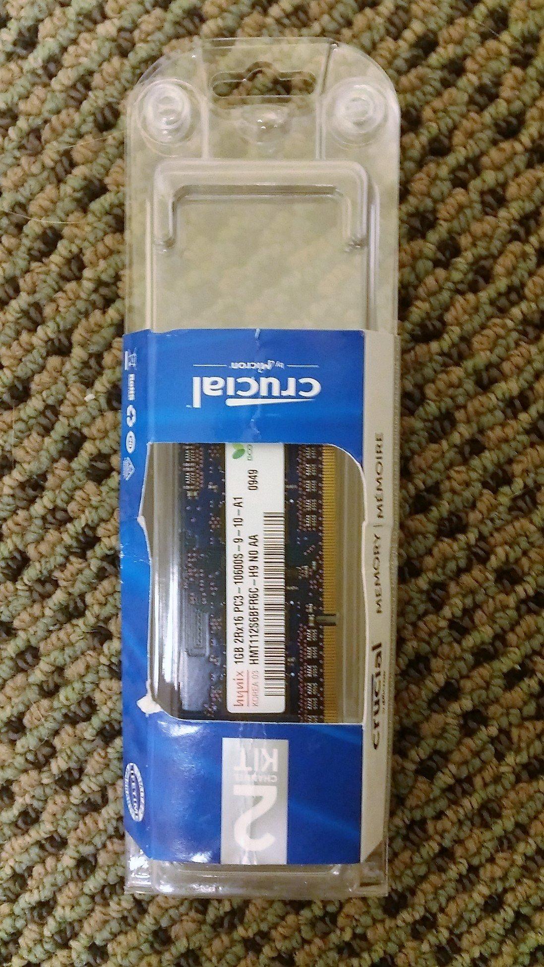 Memoria Ram 2gb Samsung Ddr3 Pc3-10600 1rx8 204-pin Sodimm