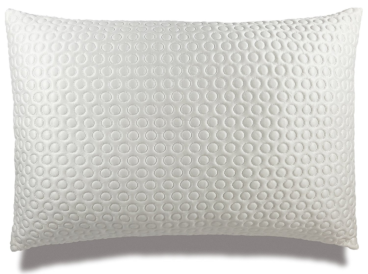 Xtreme Comforts Luxury Plush Gel Infused Fiber Filled Pillow for Sleeping. Adjustable Loft for ALL Sleepers With Proprietary Cool-X Cooling Cover (Queen) MADE IN THE USA