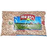 Iberia Pinto Beans 4 lb., Bulk Pinto Beans, Long Shelf Life Pinto Beans with Easy Storage, Rich in Fiber & Potassium, Low Cal