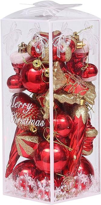 Pack de 23 adornos para el árbol de Navidad, de la marca Sea Team ...