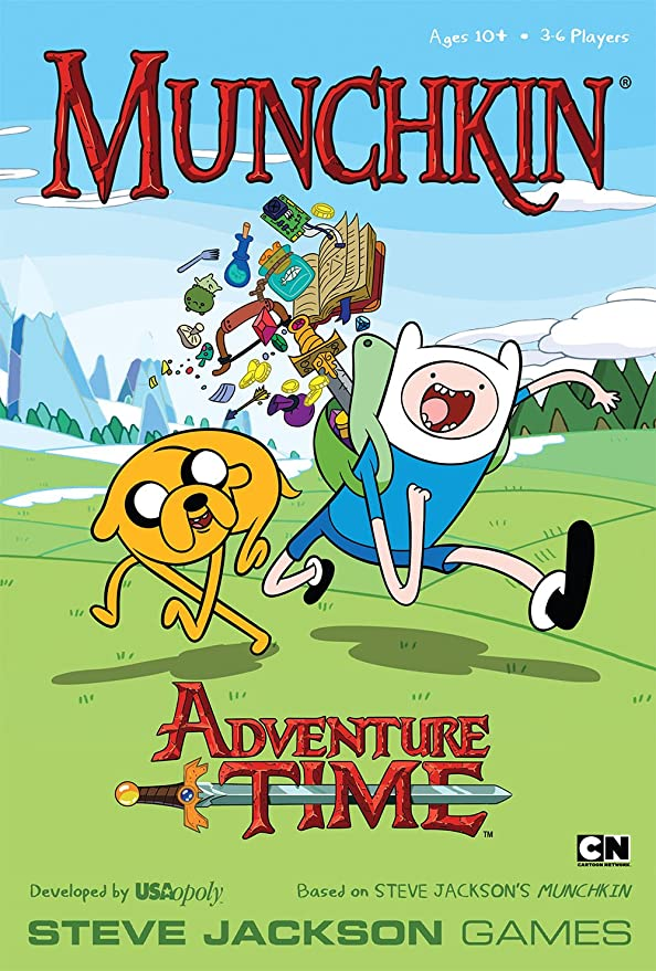 Amazon.com: Munchkin Adventure Time Juego: Game: Toys & Games