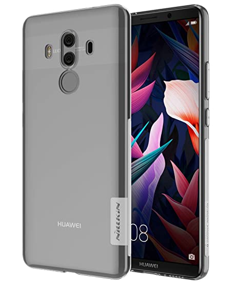outlet store 67e95 8bea5 Huawei Mate 10 Pro Case Nillkin Super Clear Non Slip Light Thin Transparent  Soft Gel TPU Case Cover for Huawei Mate 10 Pro (Clear)