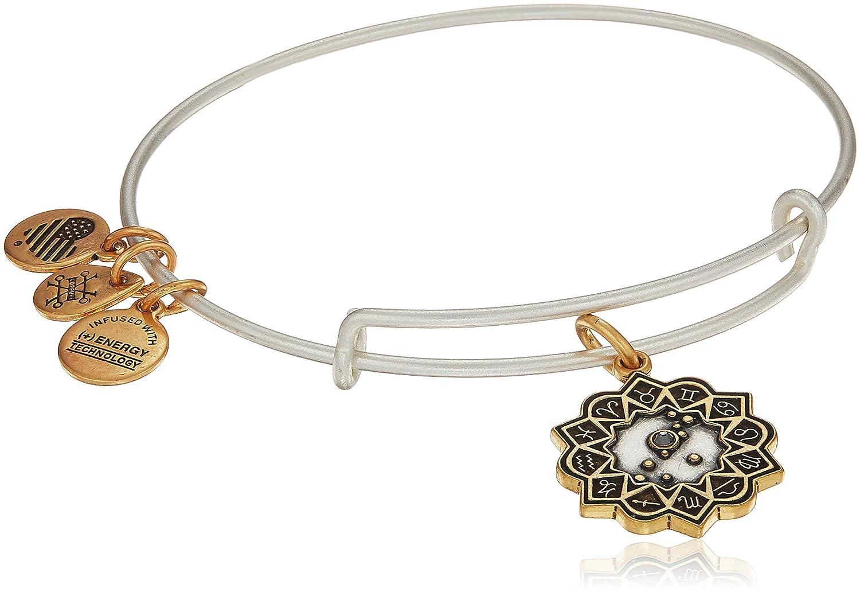 Alex and Ani Women's Taurus Two Tone Bangle Bracelet A17EBZD11RS
