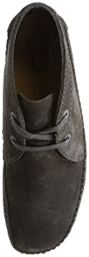 Weaver Boot: Charcoal Suede