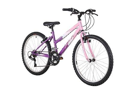 Flite Delta Girls Mountain Bike Pink 14 Inch Steel Frame 18