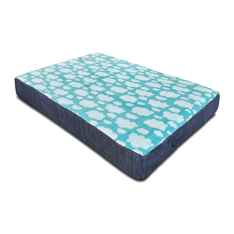 100x60 Baldiflex Mattress Cushion Soft Cloud For Dog Or Cat Doghouse, with MEMORY FOAM, 5 cm height (3 cm + 2 cm Memory) 100x60