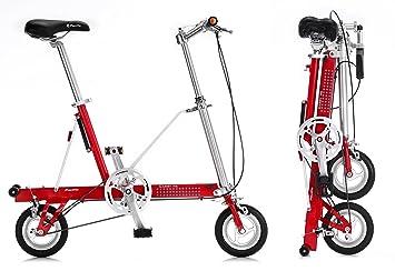 Bicicleta plegable CarryMe DS (Dual Speed) roja